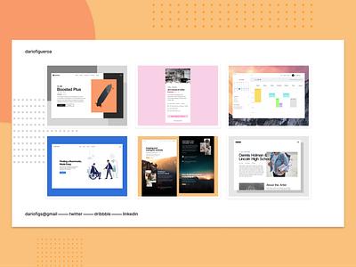 ✨ New Portfolio ✨ portfolio visual design product design webflow web design front-end development