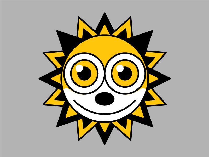 Sun-Day felix the cat illustration