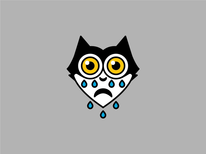 😿💛💧 illustration felix the cat