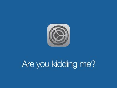 iOS 7 Settings Icon ios7 settings icon wtf ios 7 ios 7