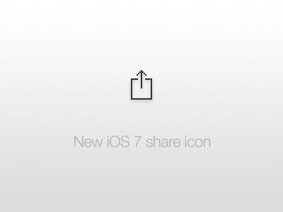 Ios7 share