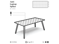 Anti-Laptop Table