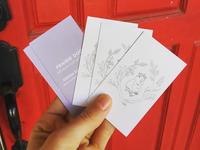 Prairie Dog Artisan Pop Up Business Cards