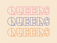 Queer x3 Typography