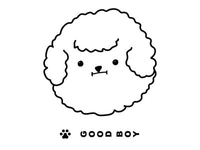 Good Boy doge dogging pup illustration icon cloud fluff good fun cute dog