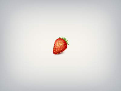 Strawberry strawberry icon berry red green