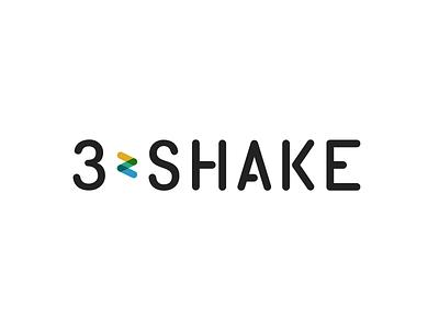 3-shake 3-shake logo branding graphic typography ci corporate identity