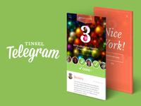 Tinsel Telegram Advent Calendar App