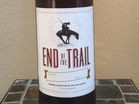 End of the Trail (home brew label)