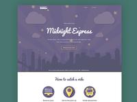 Midnight Express Website Design