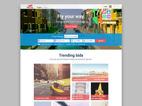 Travel Site Design