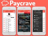 Paycrave Foodtruck Finder App Design