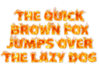 Hot FIRE SVG Color Font