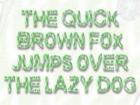 Super Eagle! Nigerian inspired OpenType-SVG Font