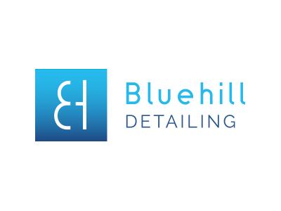 Bluehill Detailing bluehill detailing car detailing car paint body work shine gradient minimal clean monogram bluehill detaling