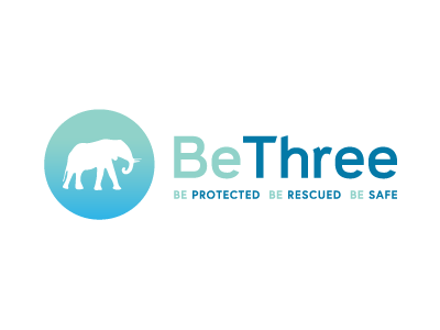 Bethreedribbble healthcare medical be three logo elephant