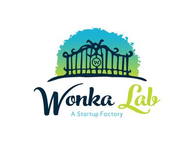 Wonka Lab Logo For Dribbble wonkalab gate start-up logo factor wearedhd graphic design logo design brand identity branding