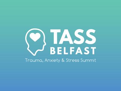 TASS Belfast gradient branding typography logodesign graphicdesign logo