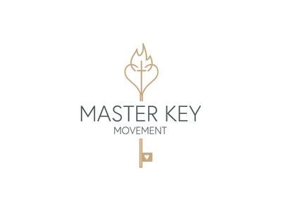 Master Key Movement  illustration icon sticker branding typography logodesign graphicdesign logo