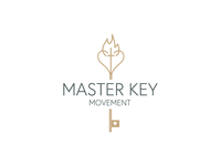 Master Key Movement  illustration icon sticker branding typography logodesign graphicdesign logo
