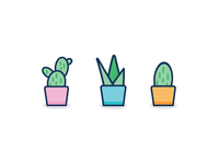 Plants vector graphicdesign illustration cactus plants