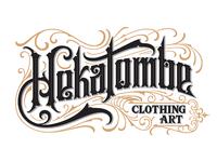 Hekatombe Vintage Logotype