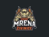 Mrena barbel Fish Sport Logo