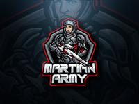 Martian Army Esport Logo
