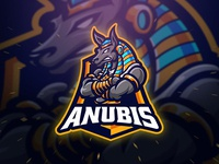 Anubis Spoer and Esport Logo