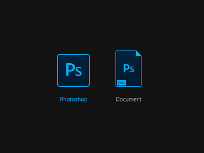 Photoshop icon by riho kroll dribbble photoshop icon sciox Images