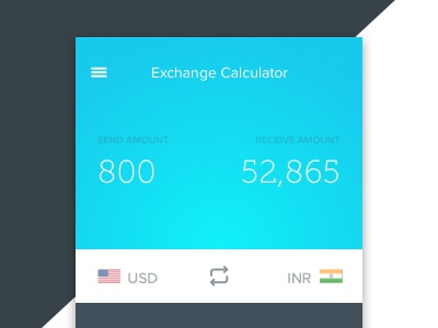 Exchange Rate Calculator