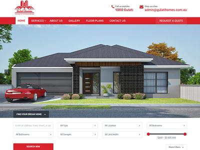 Gulati Homes - Commercial Builders ozariya wordpress development wordpress design wordpress illustrator ui ux design website web graphic design animation
