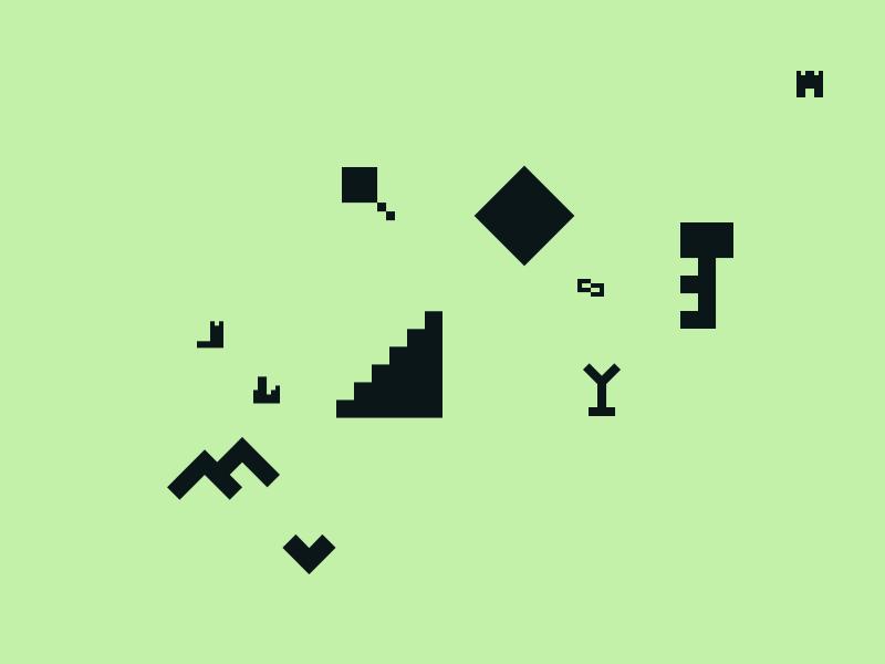 Afiado - To [icon] geometric abstract sharp icon iconset