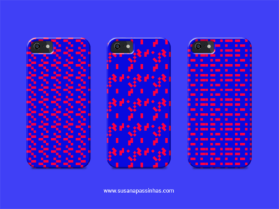 Iphone Case Patterns - Susana Passinhas abstract surfacepatterndesign graphicdesign patterns