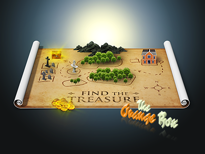 Paper Map with Smarticons extention icon generator maker creator photoshop panel 3d map