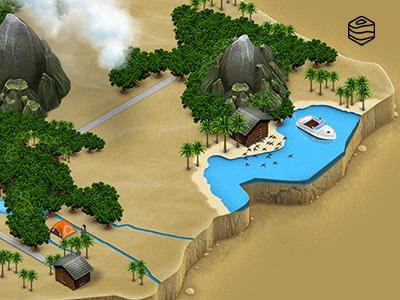 3d Map Generator 2 - Desert by Michael Tzscheppan on Dribbble
