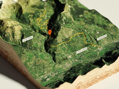 First Blender Test Render - detail 3d map map 3d depth of field dof detail test rendering blender