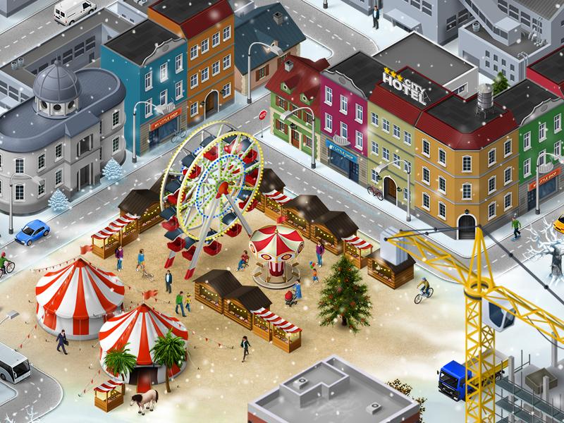 Winter market a