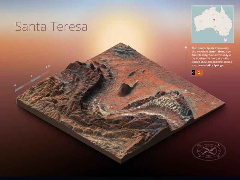 3d Map Of South Australia.Terrain Test 03 Map Generator By Michael Tzscheppan On Dribbble