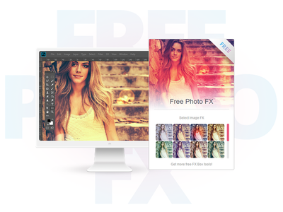 Free Photo Effect Photoshop Plugin instagram hippster effect filter extension freebie add on photoshop fx tool