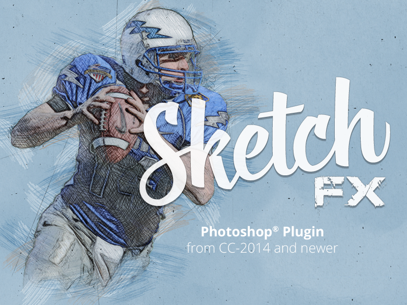Sketch Fx - Photo Effect For Photoshop by Michael Tzscheppan on ...
