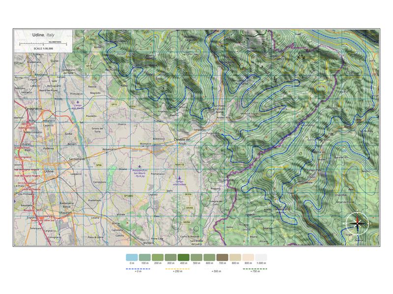 Top View Map Test - 3D Map Generator Terrain by Michael Tzscheppan
