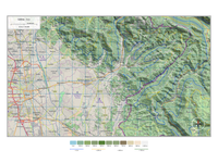 Top View Map Test - 3D Map Generator Terrain