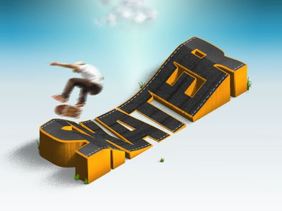 Skater - 3d Map Generator Atlas typo cloud heightmap generator map plugin photoshop 3d
