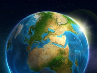 3D Earth with ATLAS