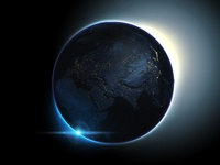 The dark side of the 3D Earth - ATLAS