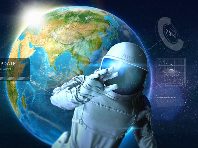 Atlas spaceman