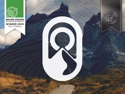 Worclimb - Branding & Logo Design adventure mountain logo logodesign logotype design brand moon road mountain logo icon branding