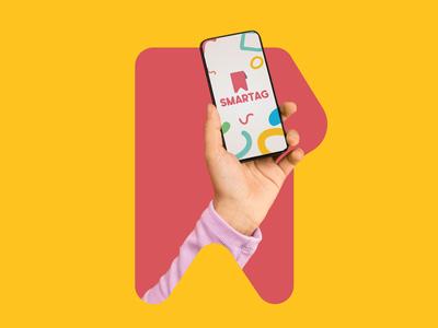 Smartag | Branding identity application app design app logotype logodesign logo icon design branding brand