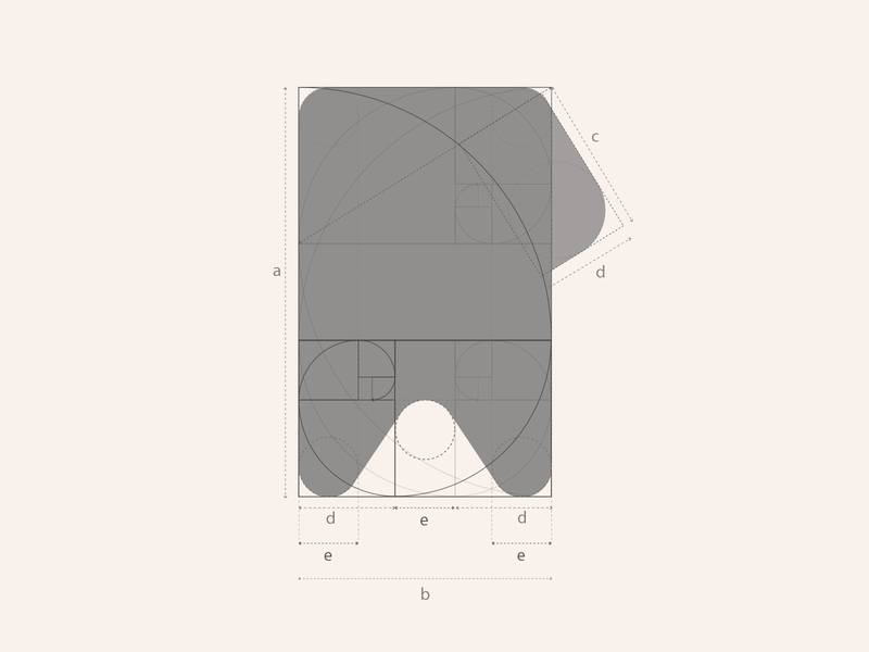 Smartag | Golden Ratio ratio golden golden ratio application app design app logotype logodesign logo icon design branding brand
